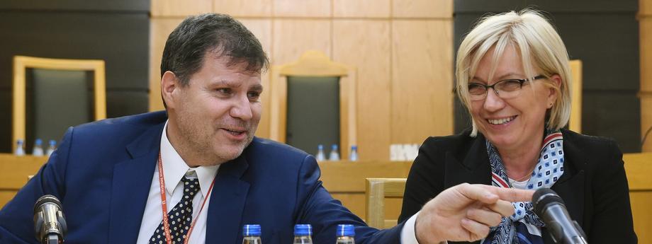 Julia Przyłębska Mariusz Muszyński Trybunał Konstytucyjny wymiar sprawiedliwości sądownictwo sądy
