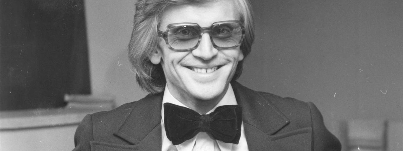 Piosenkarz Zbigniew Wodecki
