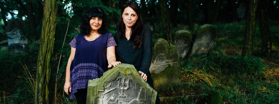 Estelle Rozinski i Kamila Klauzińska