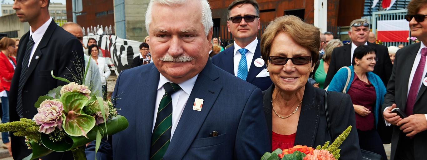 Lech i Danuta Wałęsowie