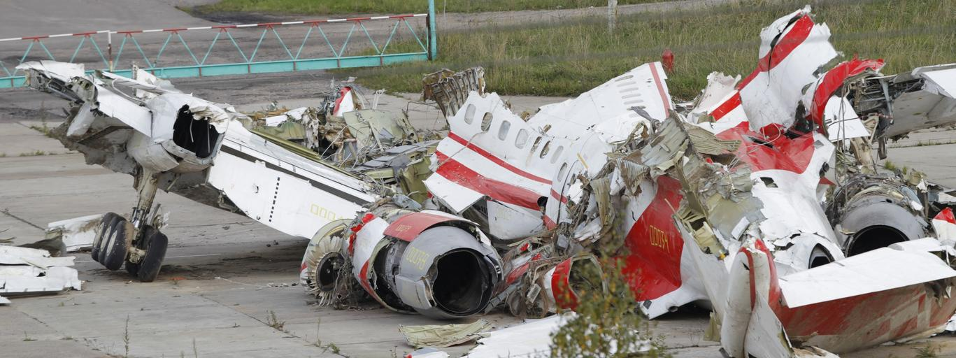 Katastrofa smoleńska Smoleńsk Tupolew Tu-154M