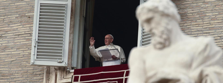 Papież Franciszek, na anioł pański