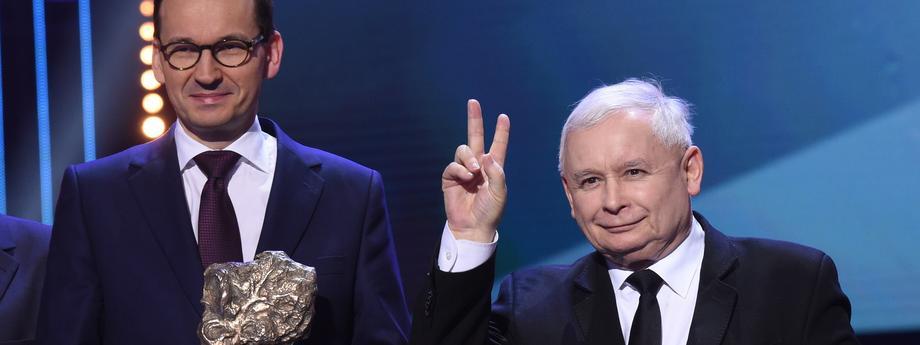 Mateusz Morawiecki Jarosław Kaczyński polityka PiS Prawo i Sprawiedliwość Gazeta Polska