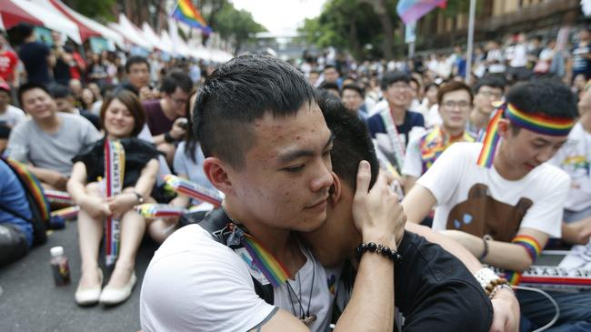 Taiwan parliament to announce same-sex marriage ruling