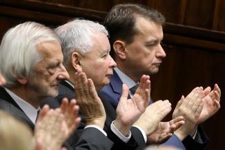 """Dziennikarz """"Gazety Polskiej Codziennie"""" ostro o rządzie PiS. """"Wstęp do teoretyczności państwa"""""""