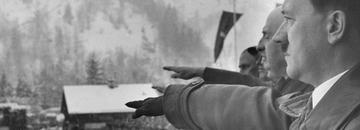 Adolf Hitler podczas igrzysk w Ga-Pa w 1936