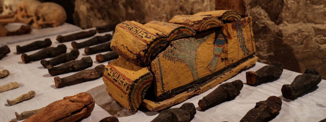mumia odkrycie egipt