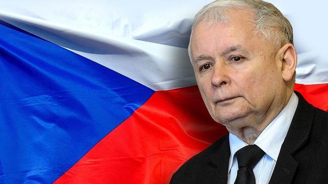 Jarosław Kaczyński Czechy