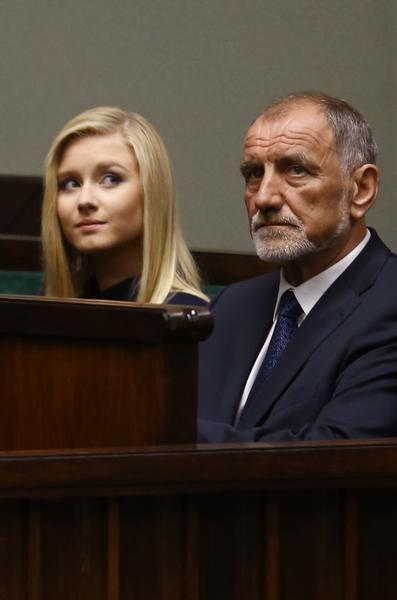 Rodzina prezydenta Andrzeja Dudy w trakcie zaprzysiezenia