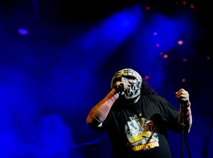Napalm Death perform at the Rock al Parque music festival in Colombia