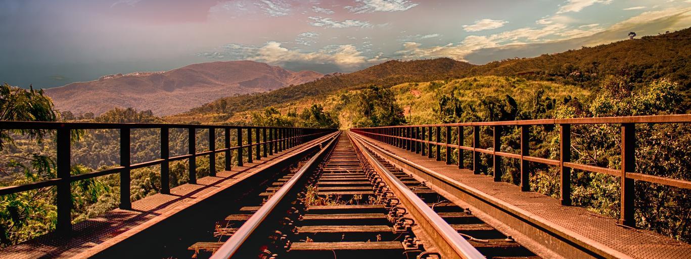 pociąg, tory