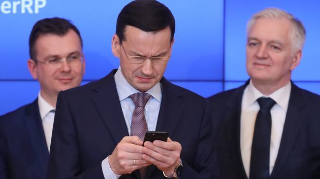 Premier Mateusz Morawiecki korzysta z popularnego komunikatora