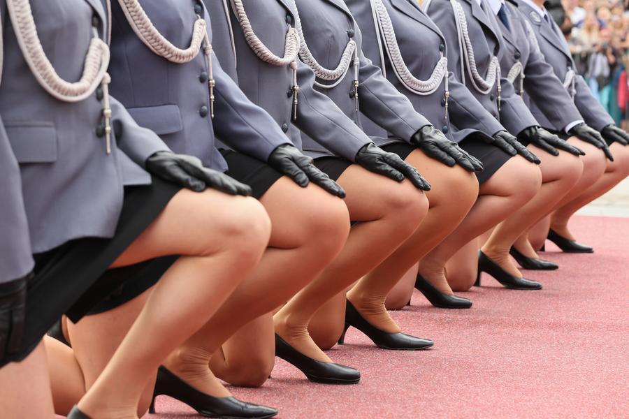 Swieto Policji policjantka