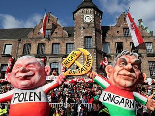 Karnawał w Duesseldorfie. Niemcy znowu śmieją się z Kaczyńskiego