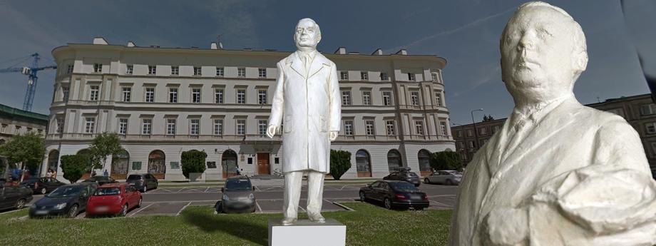 Pomniki Kaczyńskiego w Warszawie – montaż