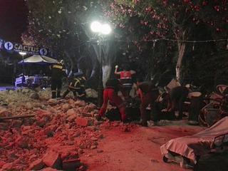 Ofiary śmiertelne trzęsienia ziemi na Kos to turyści