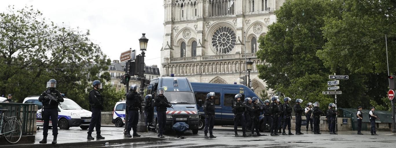 Paryż Notre Dame Francja