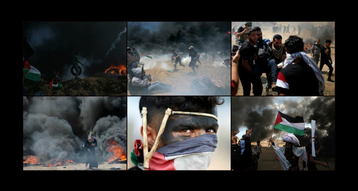 Masakra w Strefie Gazy