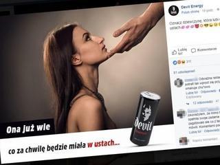 Poziom reklam polskich energetyków jest żenujący, ale ta przekroczyła granice