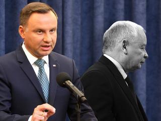 """Spotkanie Duda – Kaczyński. Czy to koniec """"wojny na górze"""" w PiS?"""