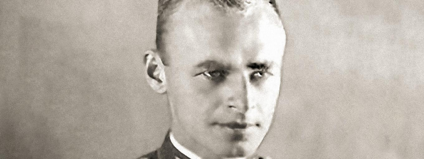 Witold Pilecki (1901-1948) when 'Podporucznik' (2nd lieutenant) in the Polish army 1938.. Image shot 1938. Exact date unknown.