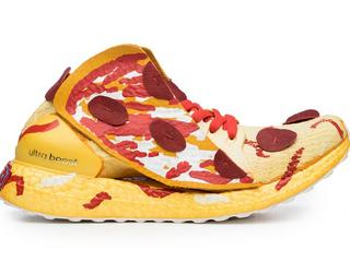 Pizza na parze Adidasów to ekstrawagancja? Zobaczcie najdziwniejsze projekty butów sportowych
