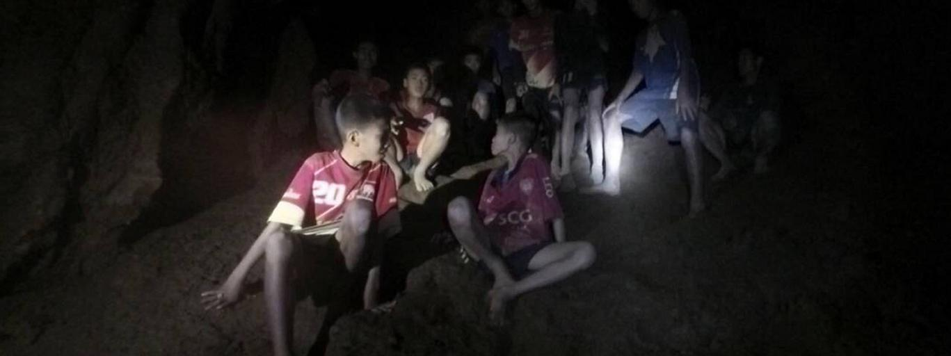 Thai cave missing members of football team found alive