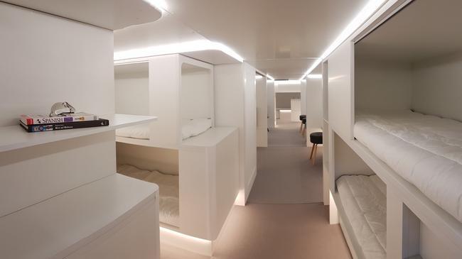 Airbus łóżka w samolocie