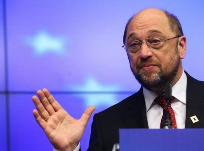Martin Schulz, przewodniczący PE