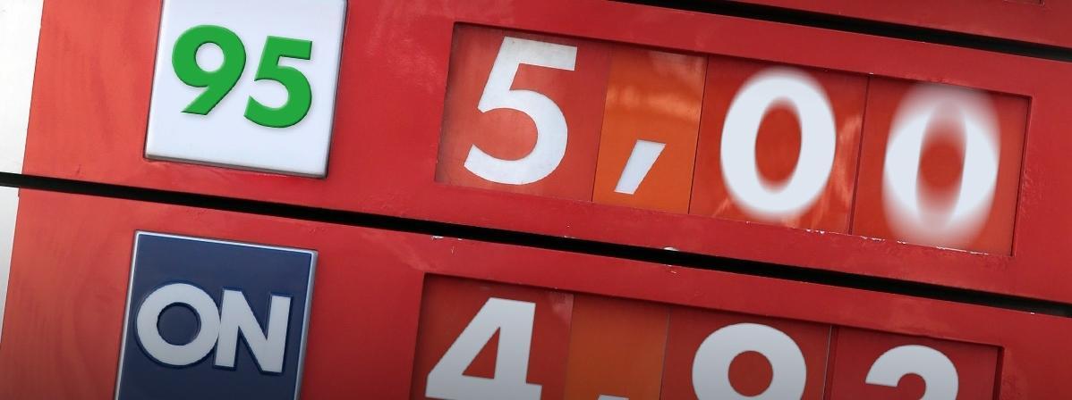Cena benzyna