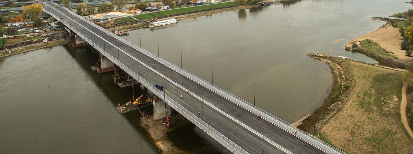 Most Łazienkowski Trasa Łazienkowska Warszawa drogi mosty