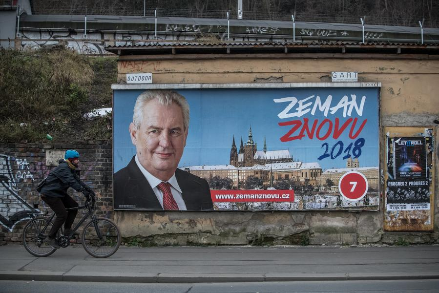 Czechy Milosz Zeman
