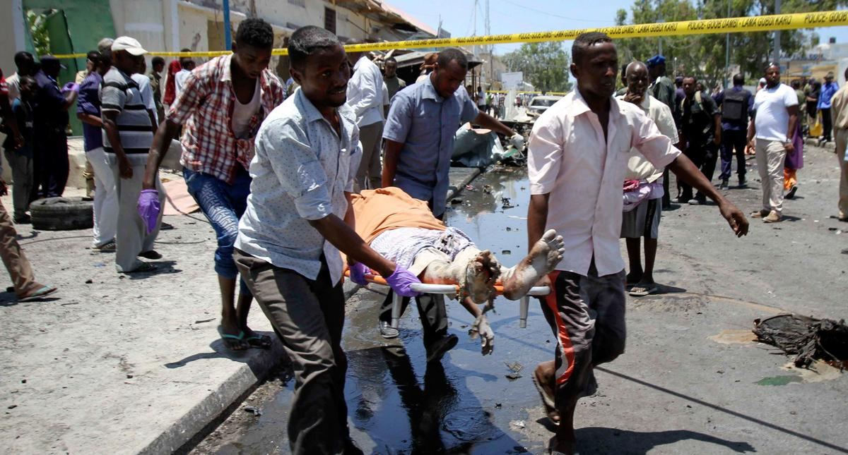 At least five killed in Mogadishu explosion