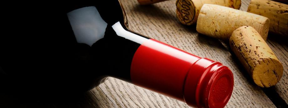 Wino butelka wina