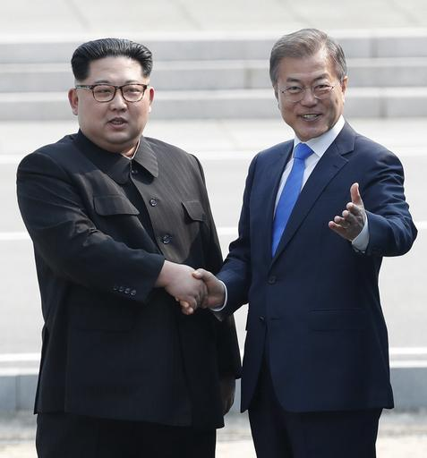 Inter-Korean summit between heads of state of South and North Korea in Panmunjom