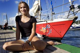 Laura miała 16 lat, kiedy skończyła samotny rejs dookoła świata