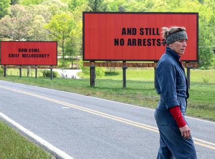 Francess McDormand Trzy billboardy za Ebbing, Missourii