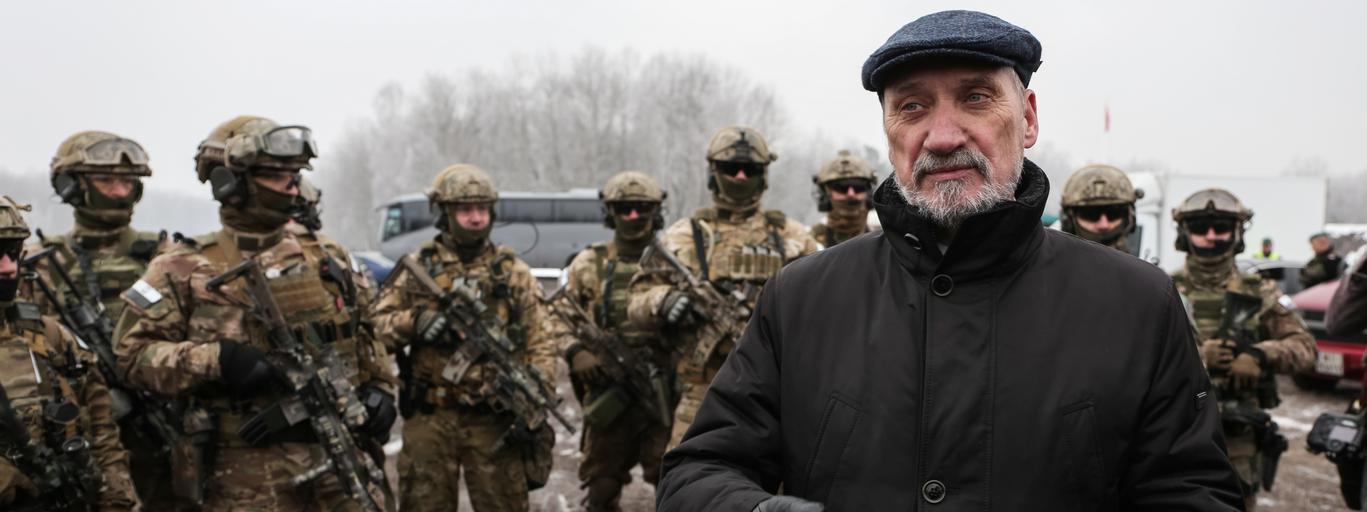 Antoni Macierewicz wojka obrony terytorialnej