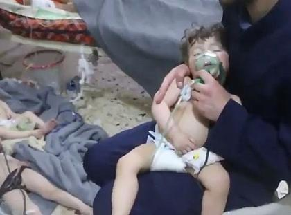 Scores Killed In Syria Gas Attack