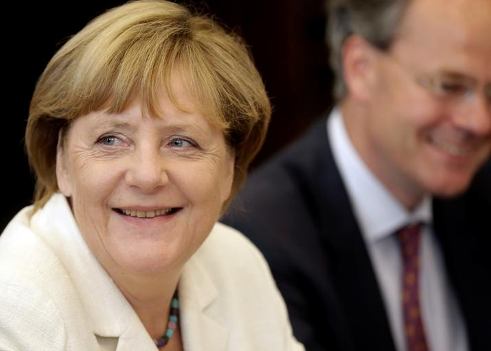 Angela Merkel Taavi Roivas Tallinn Estonia