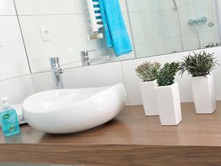 Dzisiaj przedstawiamy kilka pomysłów na to, jak urządzić łazienkę o niewielkiej powierzchni.
