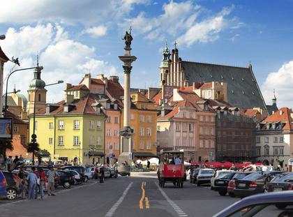 Plac Zamkowy i Kolumna Zygmunta III Wazy w Warszawie