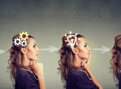 myślenie mózg kobieta psychologia psychika