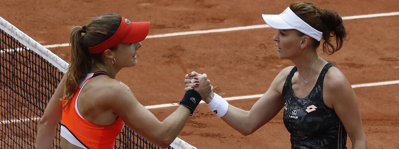 French Open 2017 Roland Garros 2017 tenis Agnieszka Radwańska Alize Cornet Paryż