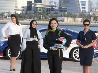 Polka w Bahrajnie ściga się z szejkami
