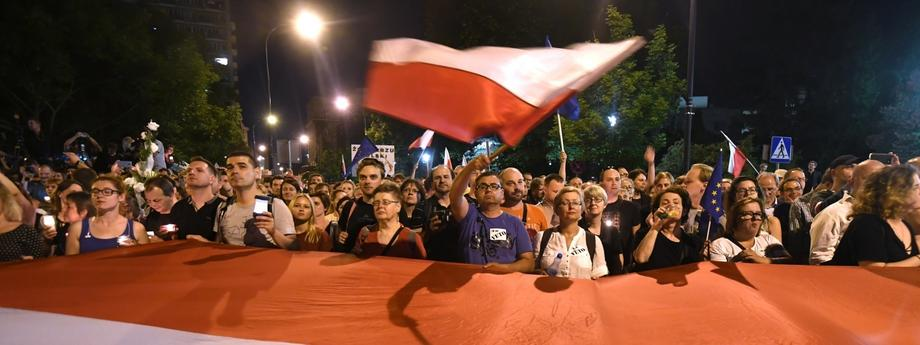 Sejm protest Sąd Najwyższy