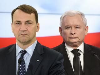 Radosław Sikorski Jarosław Kaczyński Sikorski