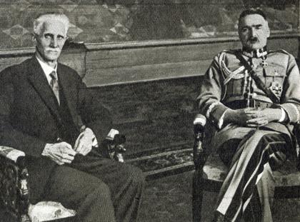 Józef Piłsudski Ignacy Daszyński
