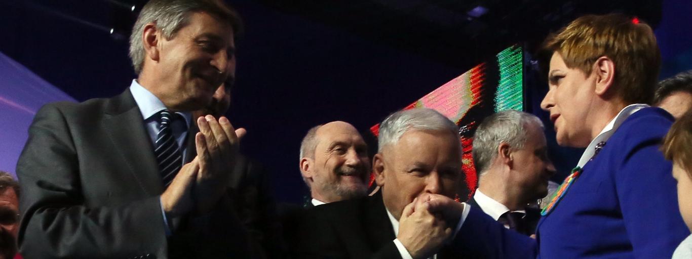 Jarosław Kaczyński, Beata Szydło Joachim Brudziński Antoni Macierewicz