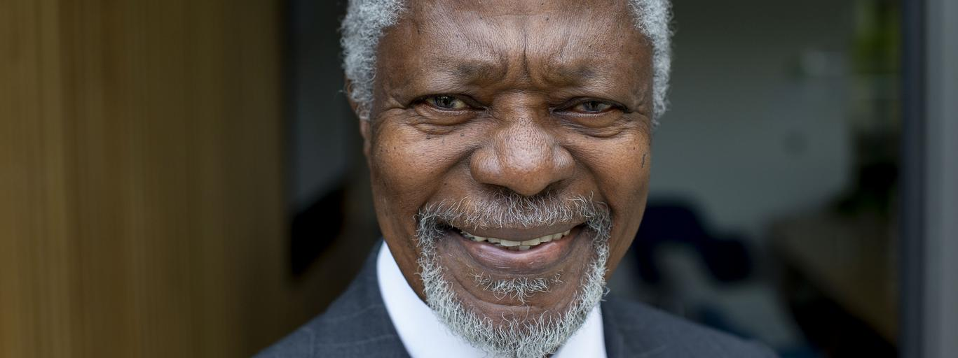 Kofi Annan Opens the Bonavero Institute